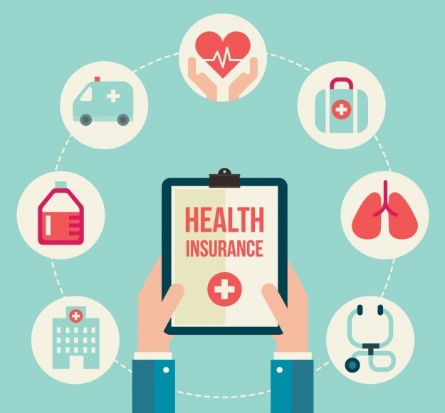 composition-with-health-insurance-icons_23-2147657716